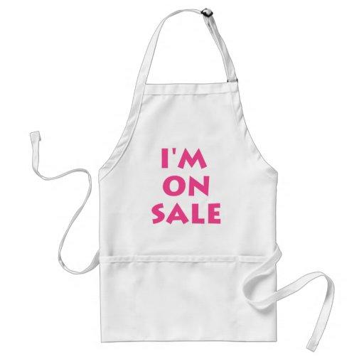 I'm on sale aprons