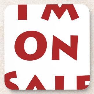 I'm On Sale! Beverage Coaster