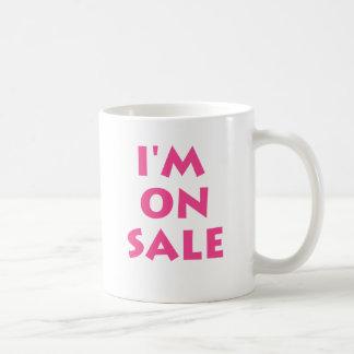 I'm on sale coffee mug