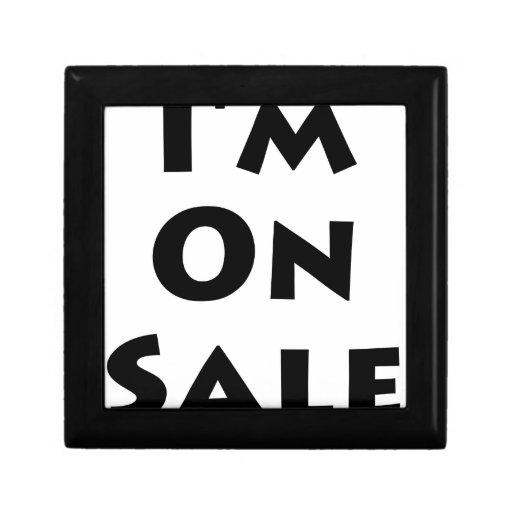 I'm On Sale! Trinket Box