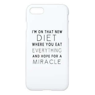 Diet Quotes iPhone Cases & Covers | Zazzle