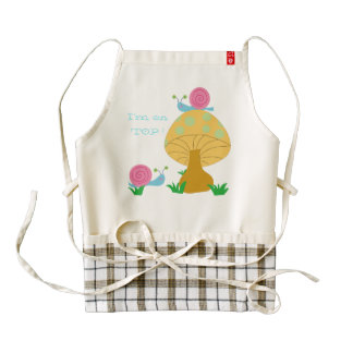 I'm on TOP ! Zazzle HEART Apron