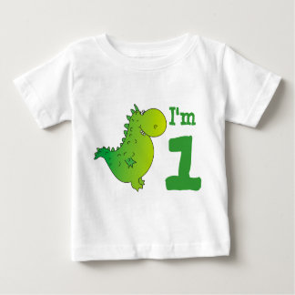 I'm One Baby's First Birthday T-Shirt,Cute Dragon Baby T-Shirt