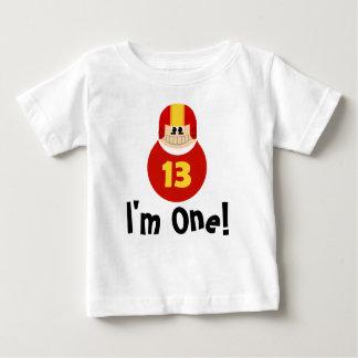 I'm One Birthday Football Player Baby Tee