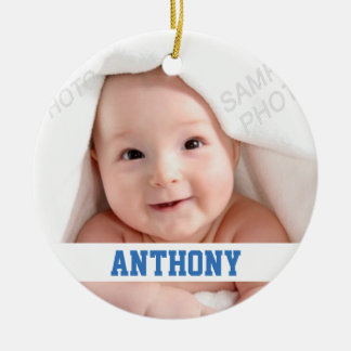 I'm One Green Pastel Balloons Baby Ornament