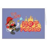 I'm One Hot Potato Card