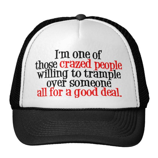 I'm one of those trucker hat