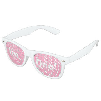 """""""I'm One!"""" Party Shades (pink)"""