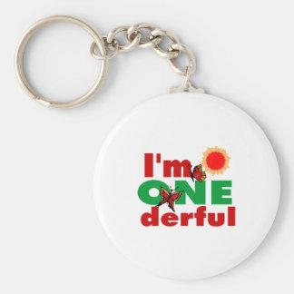 I'm onederful keychain