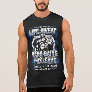 I'm only here to lift Gym funny tanks