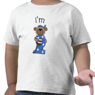 Im oso de 2 cumpleaños camiseta