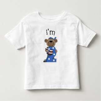 Im oso de 2 cumpleaños playera de bebé