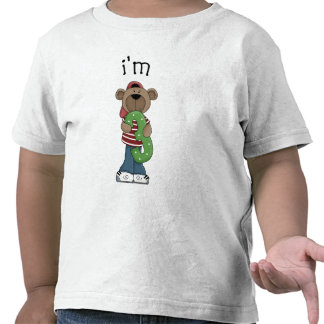 Im oso de 3 cumpleaños camiseta