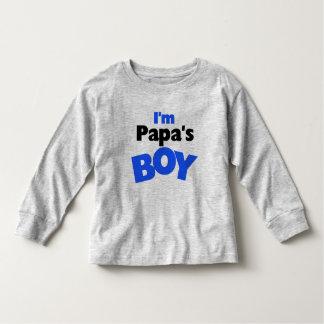 I'm Papa's Boy Toddler T-shirt