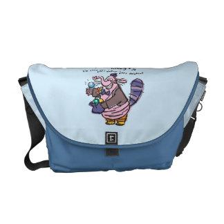 I'm Part Cat… Messenger Bag
