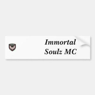 IM_patch, Immortal Soulz MC Bumper Sticker