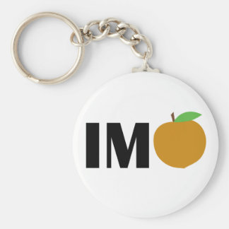 IM Peach Keychain