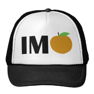 IM Peach Trucker Hat