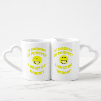 I'm Perfect Interlocking Mugs / Cups