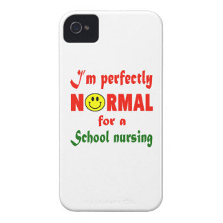 I'm perfectly normal for a School nursing. iPhone 4 Covers