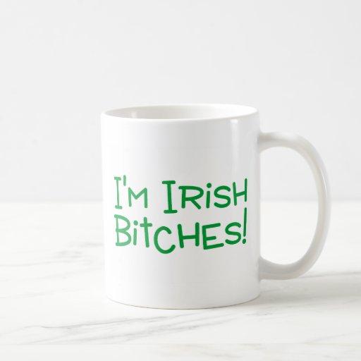 Im perras irlandesas taza