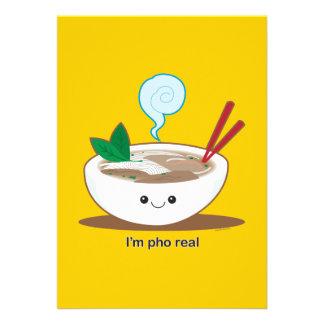 I'm Pho Real Custom Announcement
