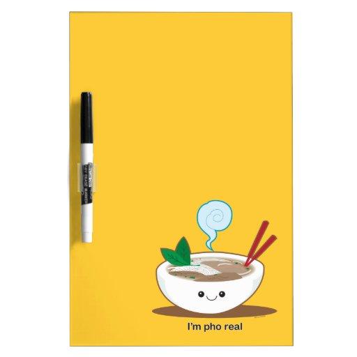 I'm Pho Real Dry-Erase Whiteboard