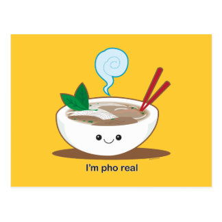 I'm Pho Real Post Card