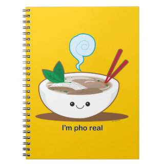 I'm Pho Real Spiral Notebook