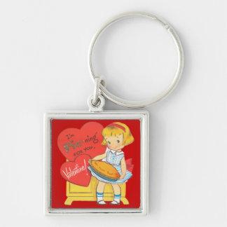 I'm Pie-ning For You Valentine Keychain