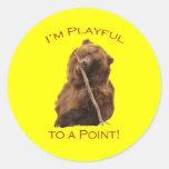 I'm Playful to a Point! Sticker