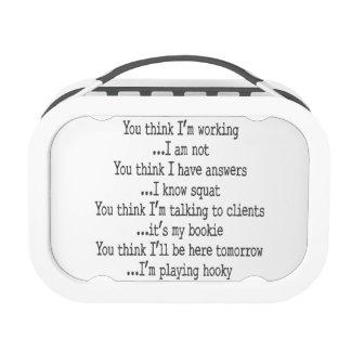 I'm Playing Hooky Yubo Lunchbox
