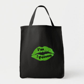 I'm Poison Canvas Bag