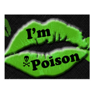 I'm Poison Postcards