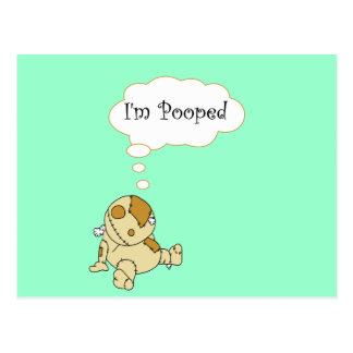 I'm Pooped Postcard