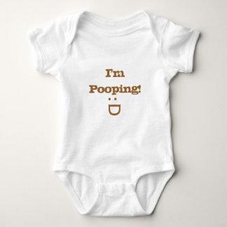 I'm Pooping baby shirt