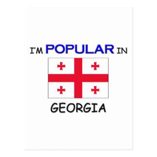 I'm Popular In GEORGIA Postcard