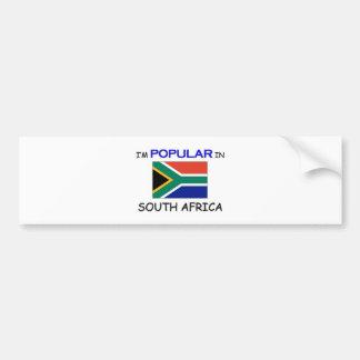 I'm Popular In SOUTH AFRICA Bumper Sticker