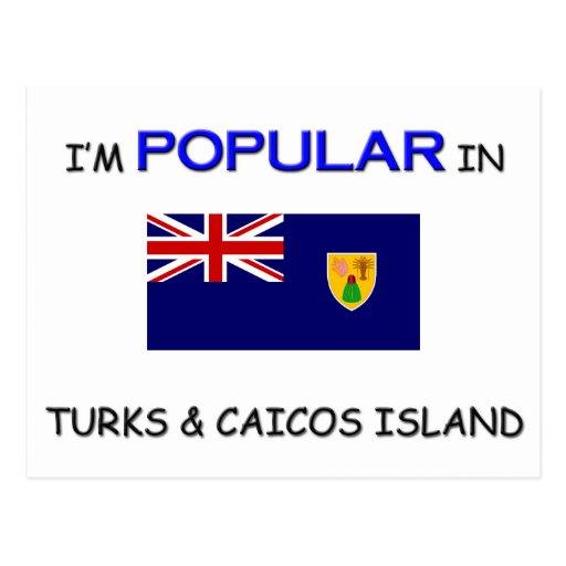 I'm Popular In TURKS & CAICOS ISLAND Postcard