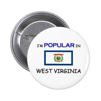 I'm Popular In WEST VIRGINIA Button