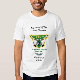 I'm Proud of My Great Grandpa Tee Shirt