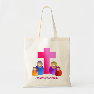 I'm Proud To Be A Christian - Designer Budget Tote
