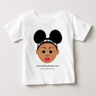 """""""I'm Proud to Be Natural Me"""" Baby T-Shirt"""