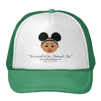 I'm Proud to Be Natural Me Cap Trucker Hat