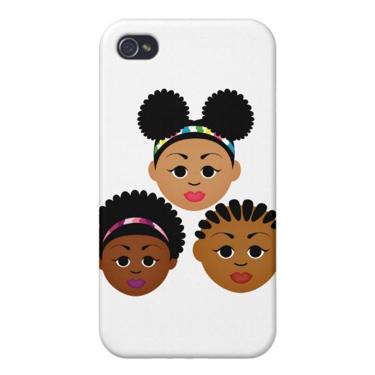"""I'm Proud to Be Natural Me"" Collection iPhone 4/4S Cover"