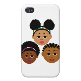 """""""I'm Proud to Be Natural Me"""" Collection iPhone 4 Cases"""