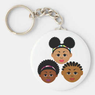 """""""I'm Proud to Be Natural Me"""" Collection Keychain"""