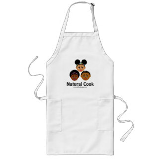 """I'm Proud to Be Natural Me"" Collection Long Apron"