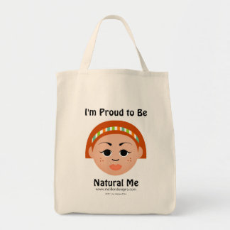 """I'm Proud to Be Natural Me"" Collection Tote Bag"