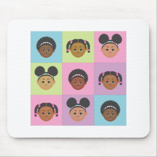 I'm Proud to Be Natural Me! Mouse Pad